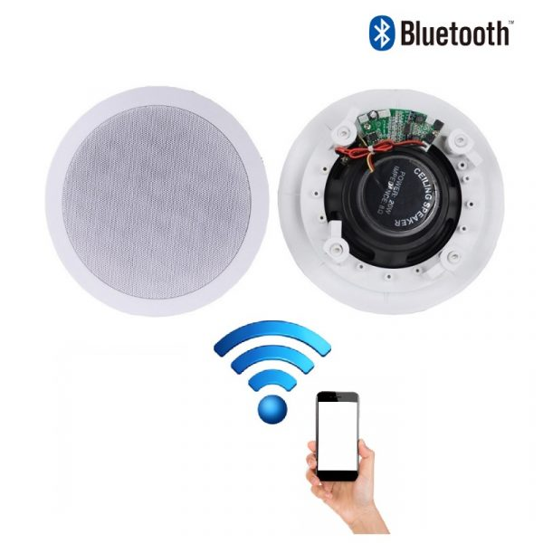 Ceiling Speakers 60w Wireless Bluetooth Audio Streaming Home Audio Living Room